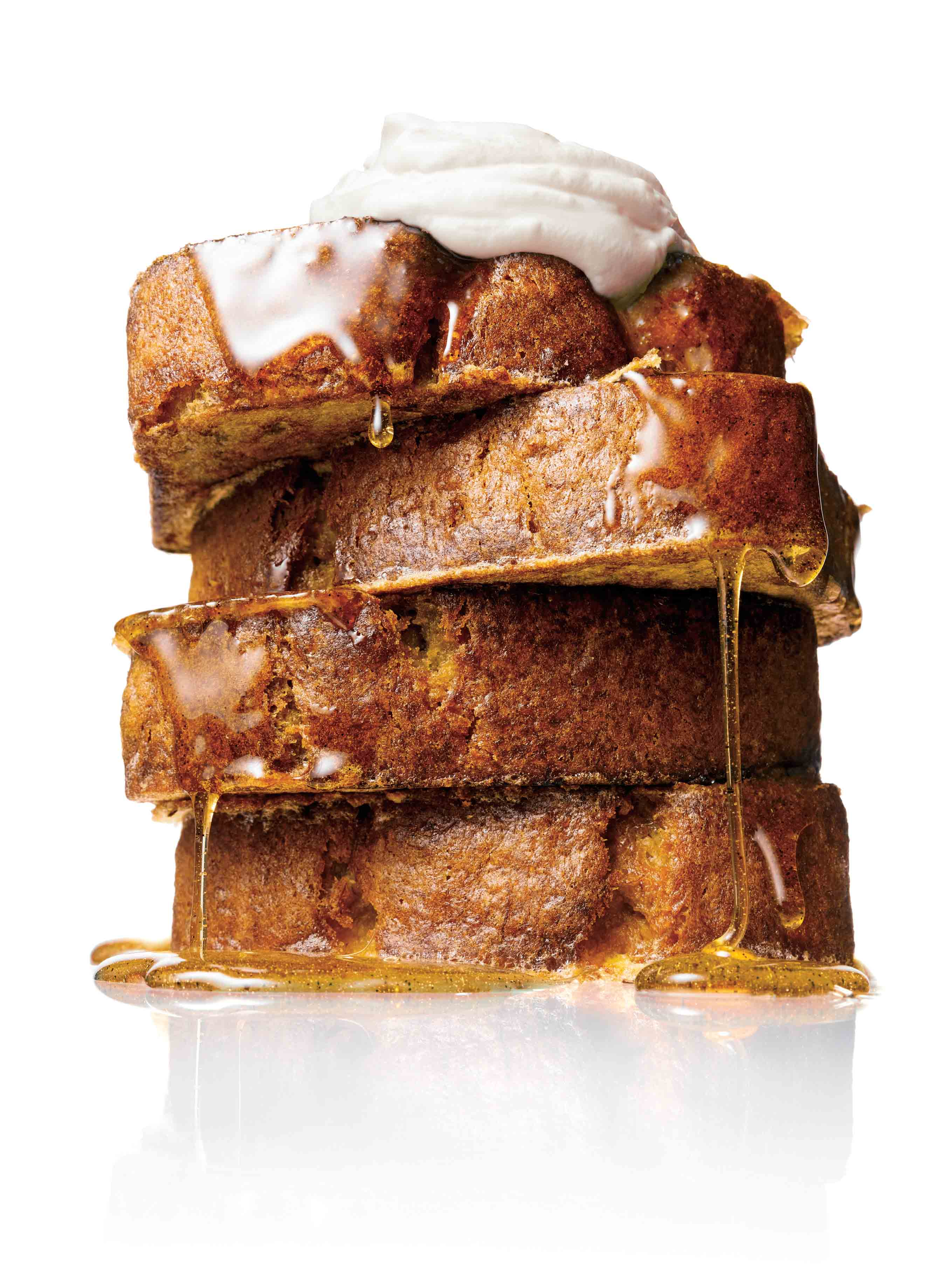 2 Slices Banana Bread (preferably Dried Out) Ghee French Toast: How To Make