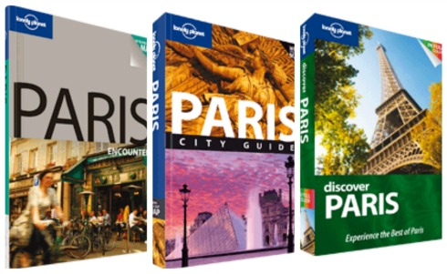 lonely planet paris guides