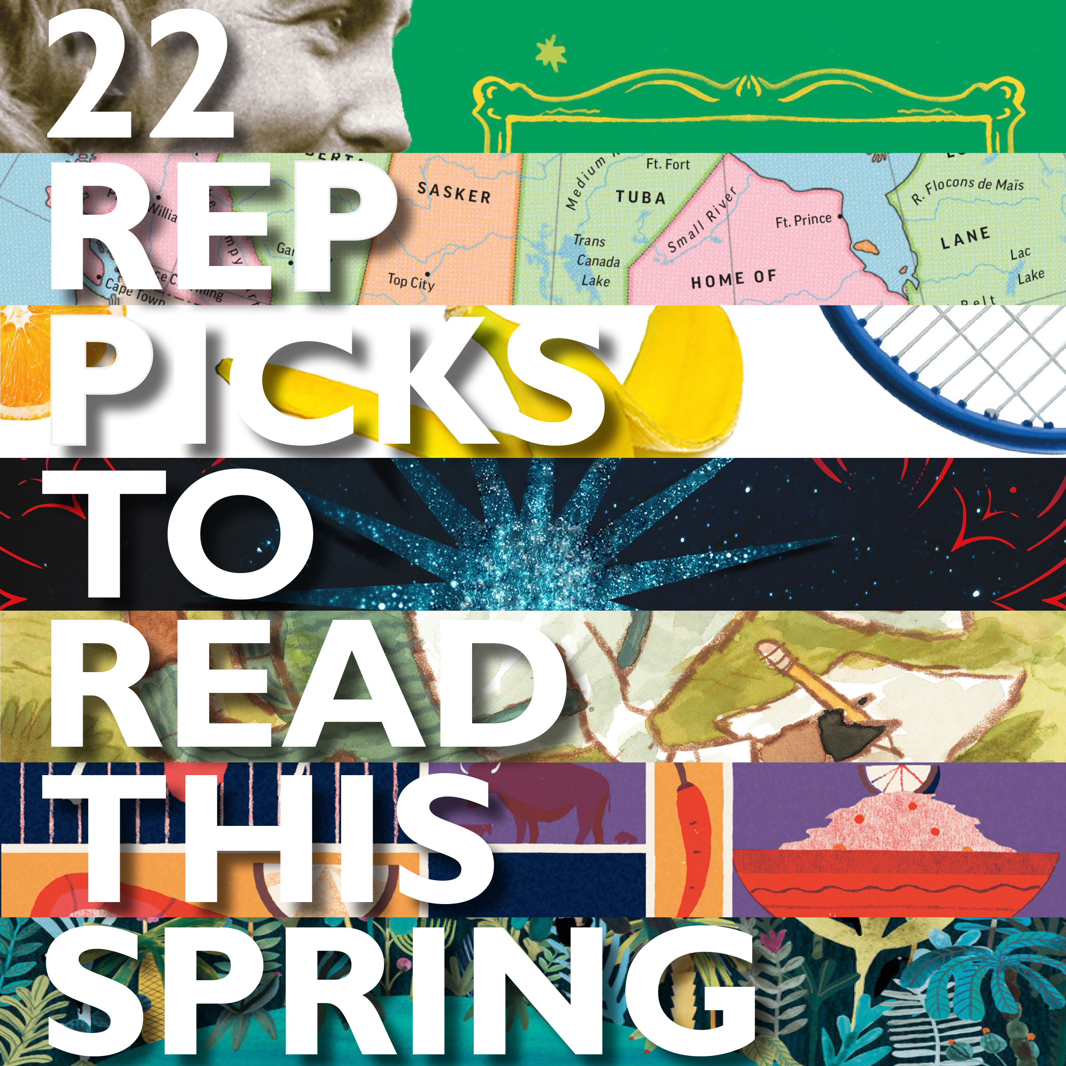 rep picks to this spring blog books kick the year off right these hand picked selections for the early spring season