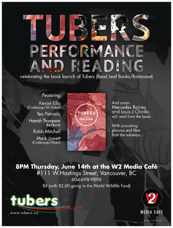 Tubers Poster Event W2 Cafe