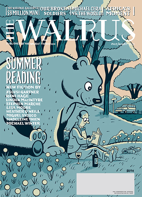 The Walrus Summer Reading Edition cover by Seth
