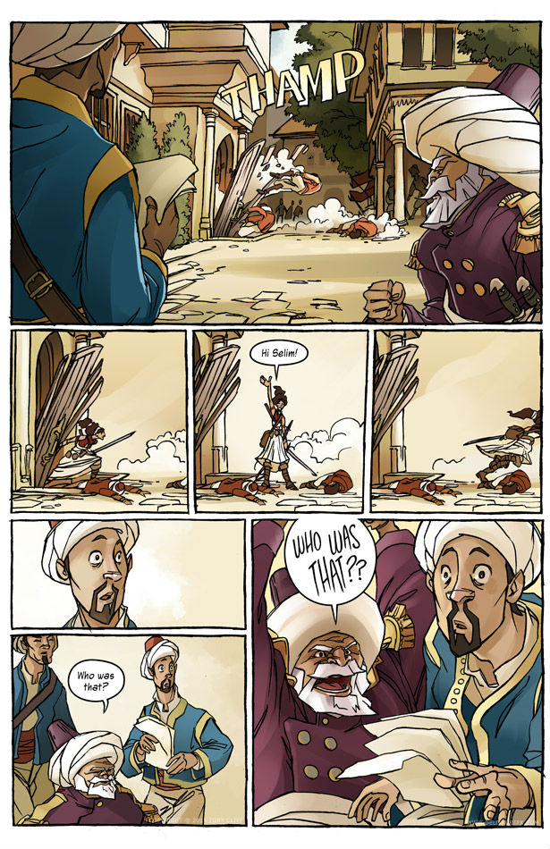 Delilah Dirk Chapter 1