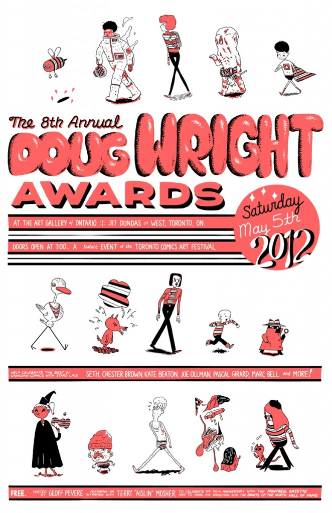 Doug Wright Awards 2012