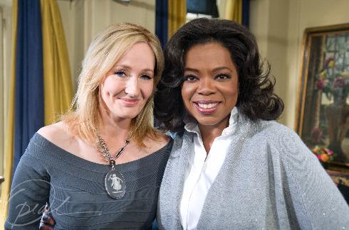 J.K. Rowling with Oprah Winfrey